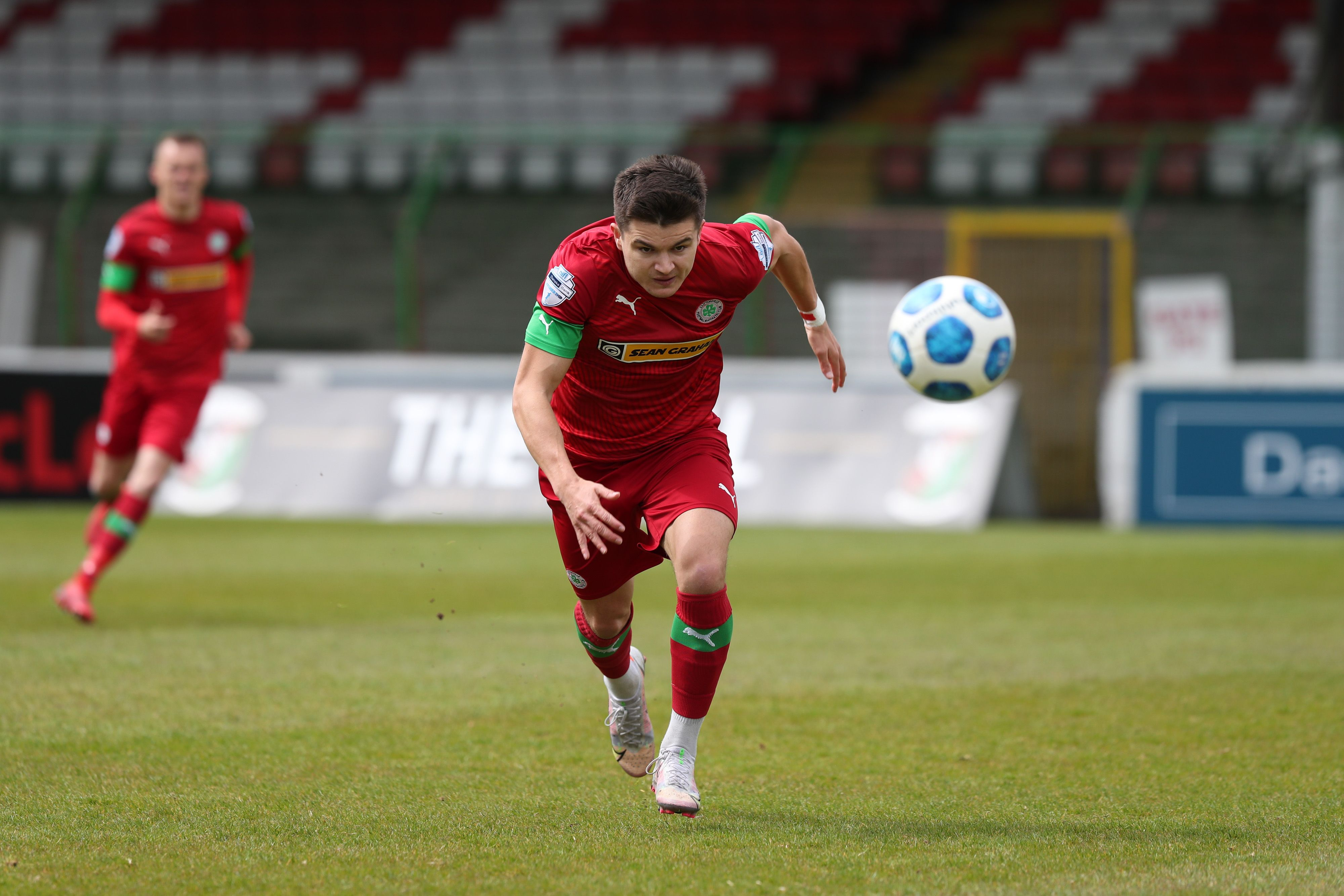 Daire O\'Connor put Cliftonville into the lead