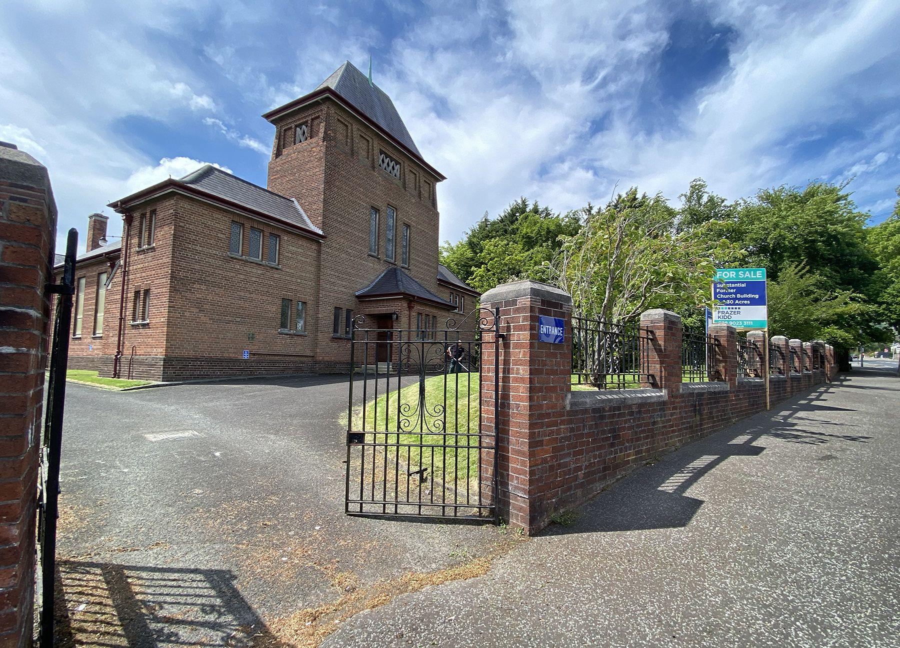 UP FOR SALE: Cavehill Methodist Church