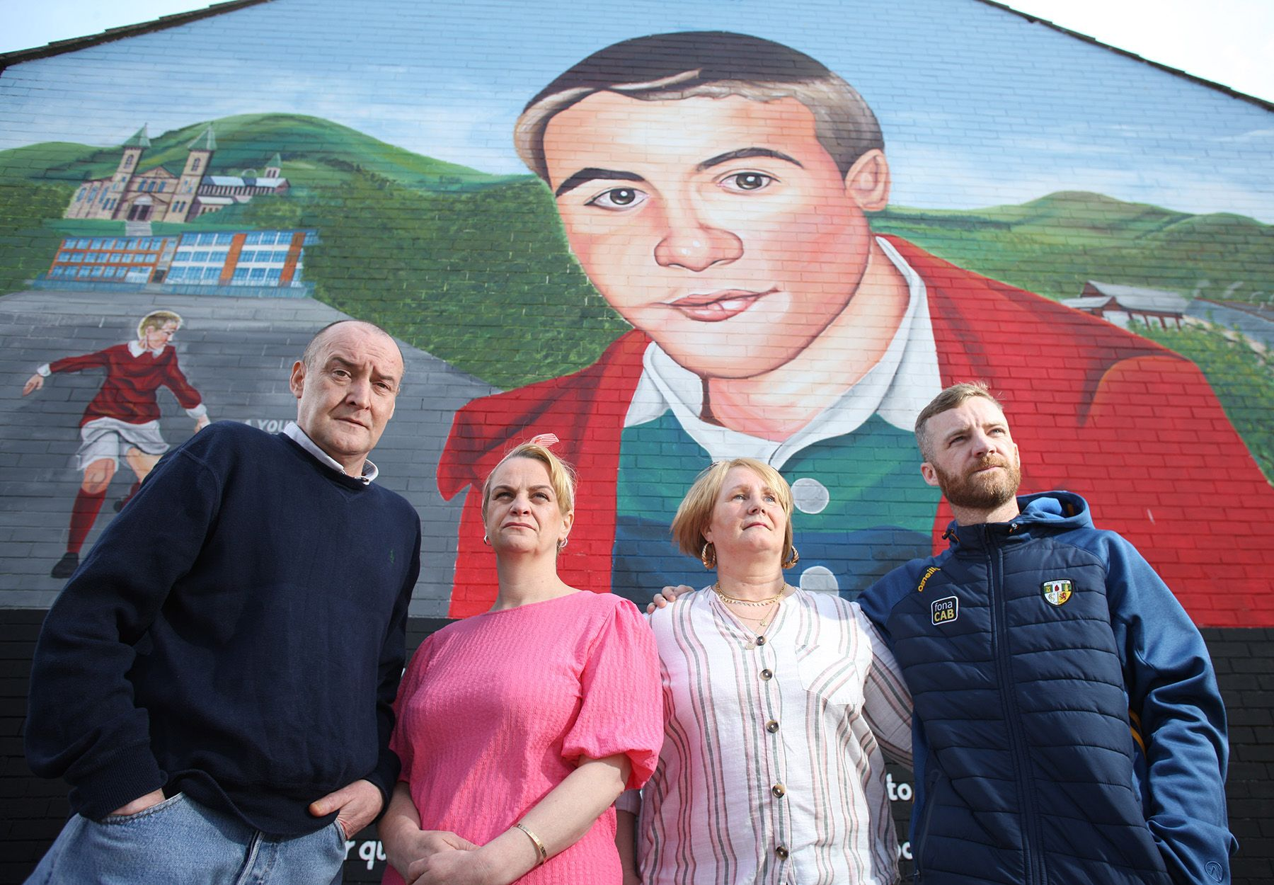 FAMILY: Con and Tina Barrett with Susan Barrett Scullion and Eamonn Scullion