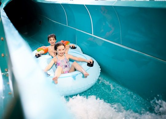 TORRENT: The leisure centre and water park represent a £25m investment in Andersonstown