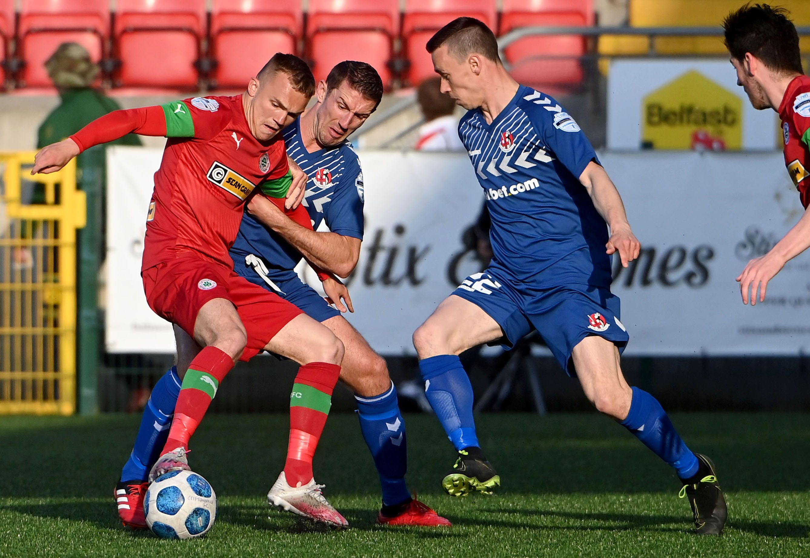 Cliftonville manager Paddy McLaughlin acknowledged that Tuesday's shootout win over Crusaders will have physically drained his players