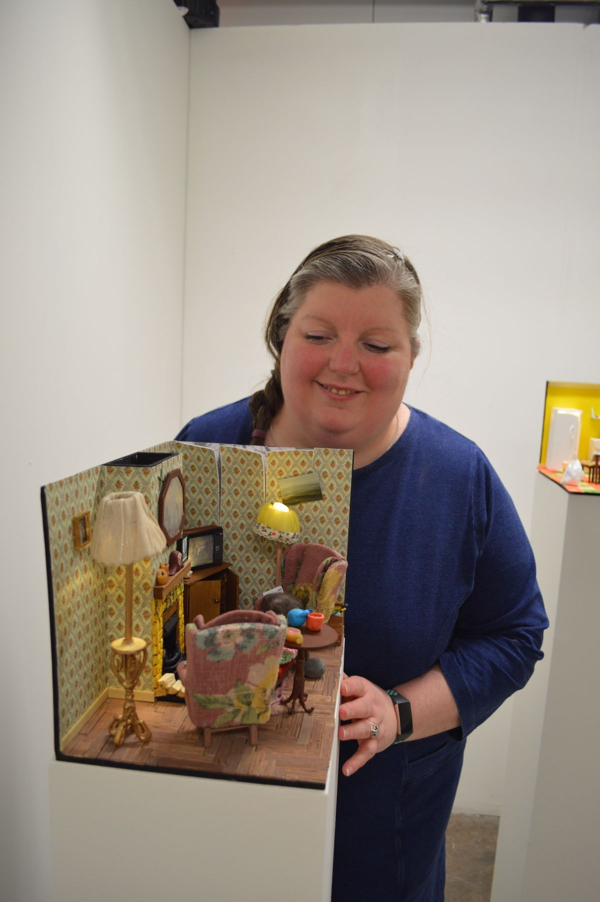 EXHIBITION BY EMAIL: Oonagh McAteer\'s work in the Arts for All exhibition in Cityside.