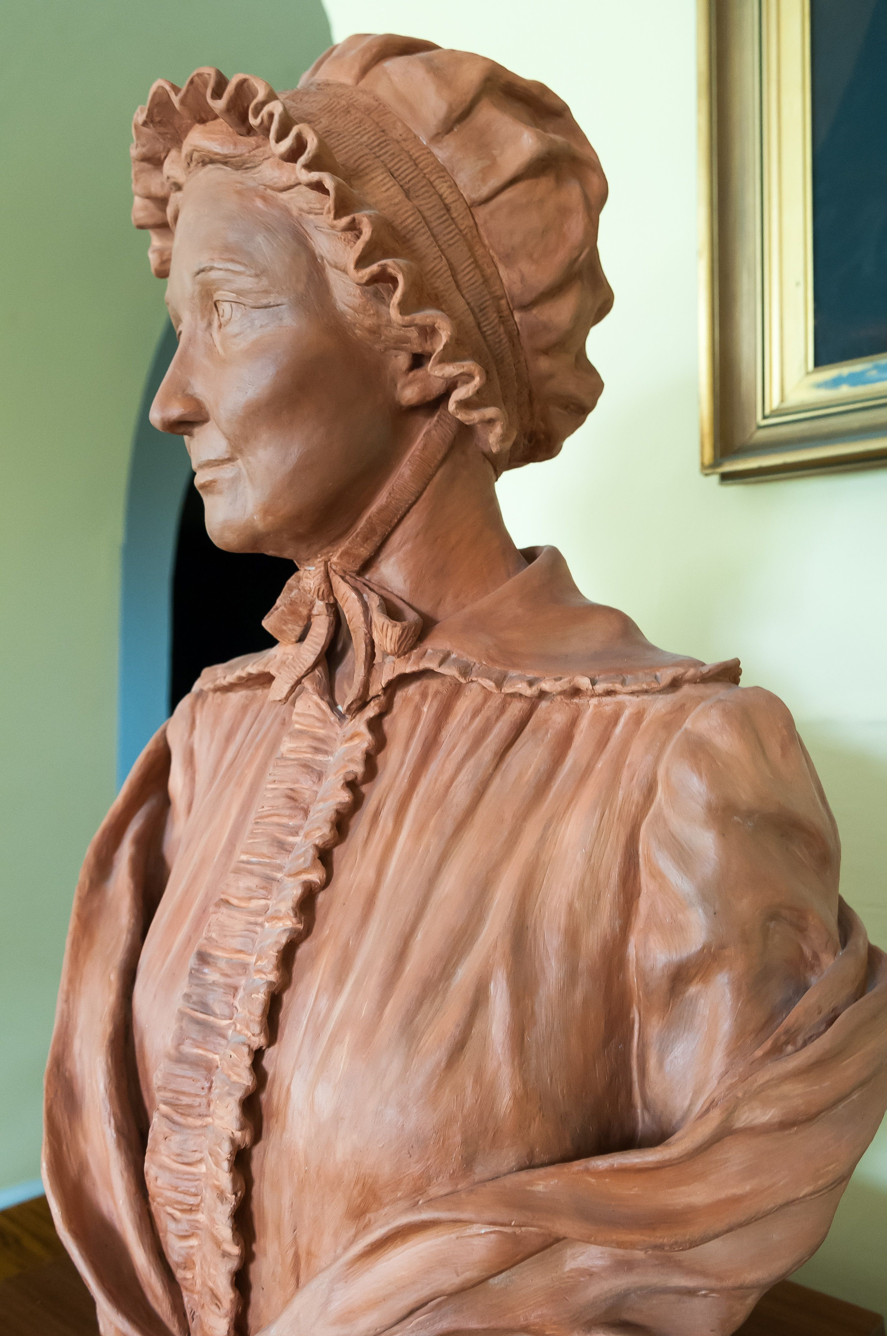 ICONIC: A statue of Mary Ann McCracken in the grounds of Belfast City Hall has been approved