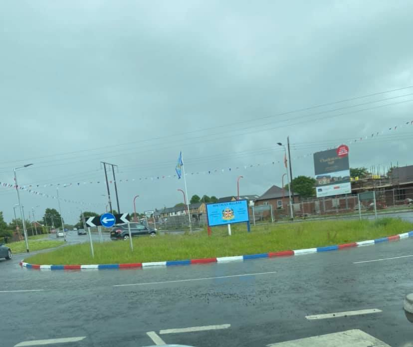TARGETED: Glenavy Road Roundabout