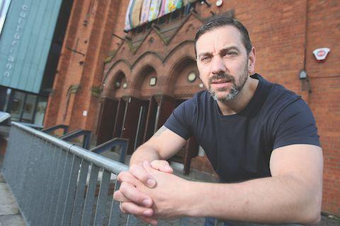 LEGAL ACTION: West Belfast film-maker Seán Murray