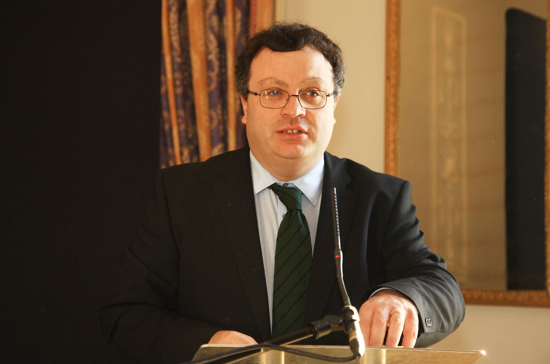THE RIGHT APPROACH: Stephen Farry is rightly determined not to give the LCCcredibility