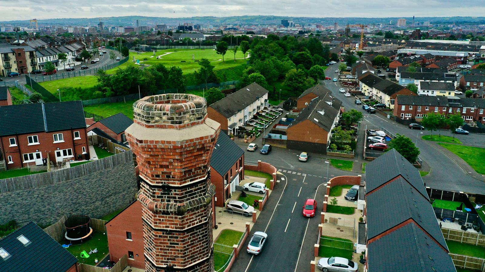 NORTH CHOICE: Belmore Way new housing development in North Belfast.