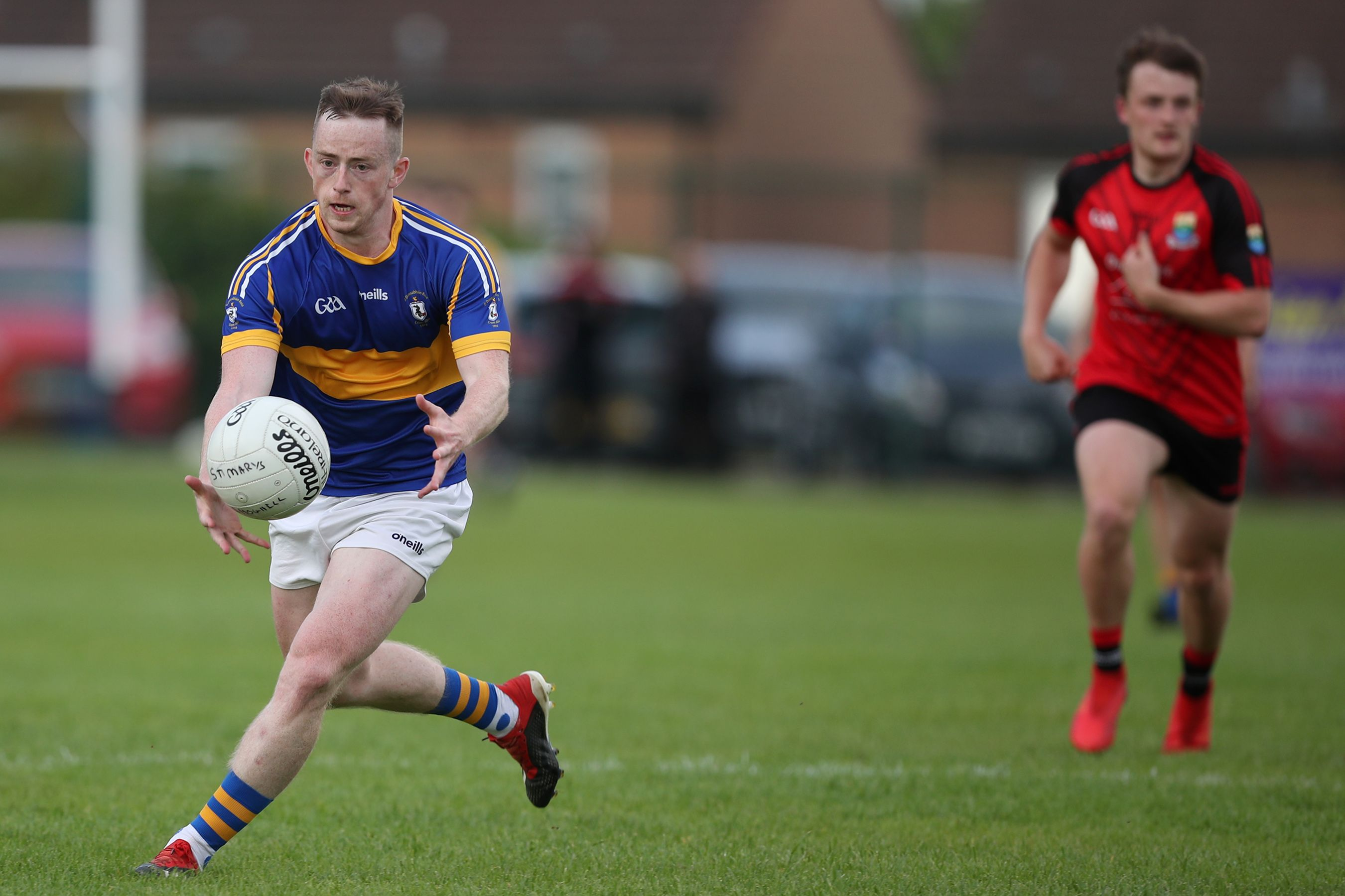 Thomas Morgan goes on the attack for Rossa on Wednesday