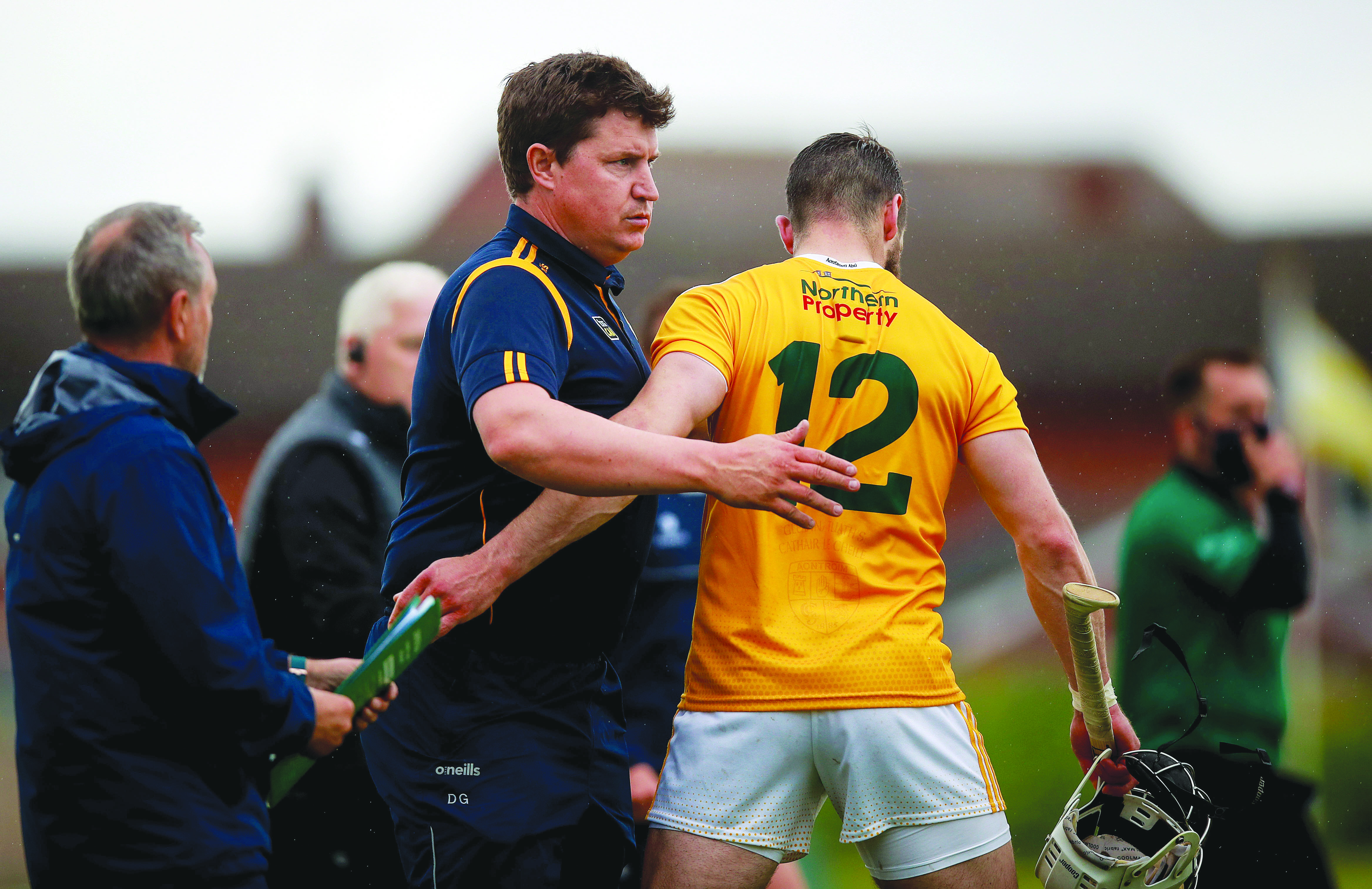 Antrim manager Darren Gleeson insists Saturday's game against Laois at Corrigan Park remains key as they seek to maintain momentum
