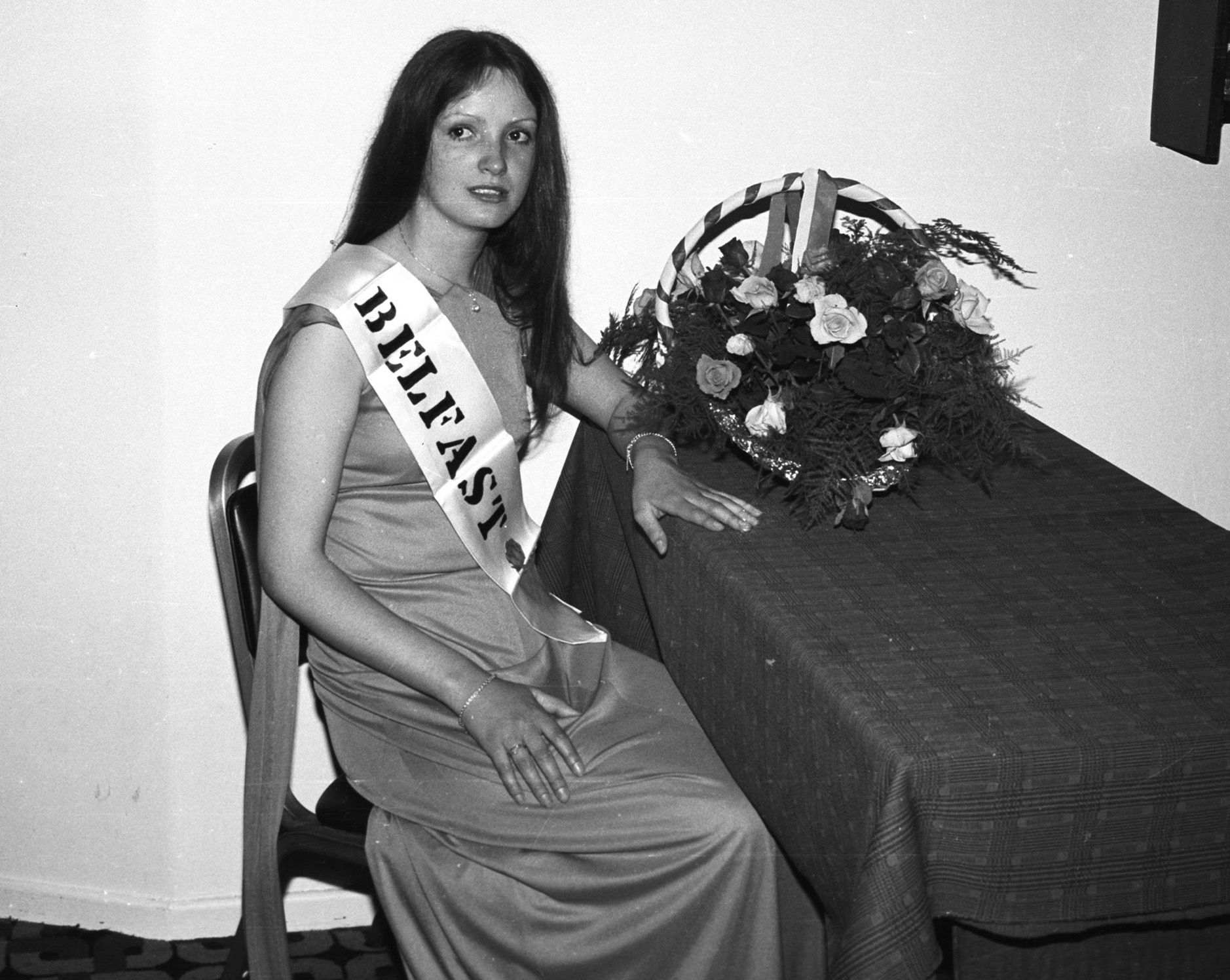 Marita Marron from Gransha was set to represent Belfast in the Rose of Tralee contest, this week back in June 1979