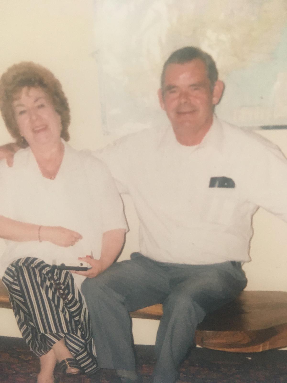 TOGETHER: Geordie and his wife Kathleen