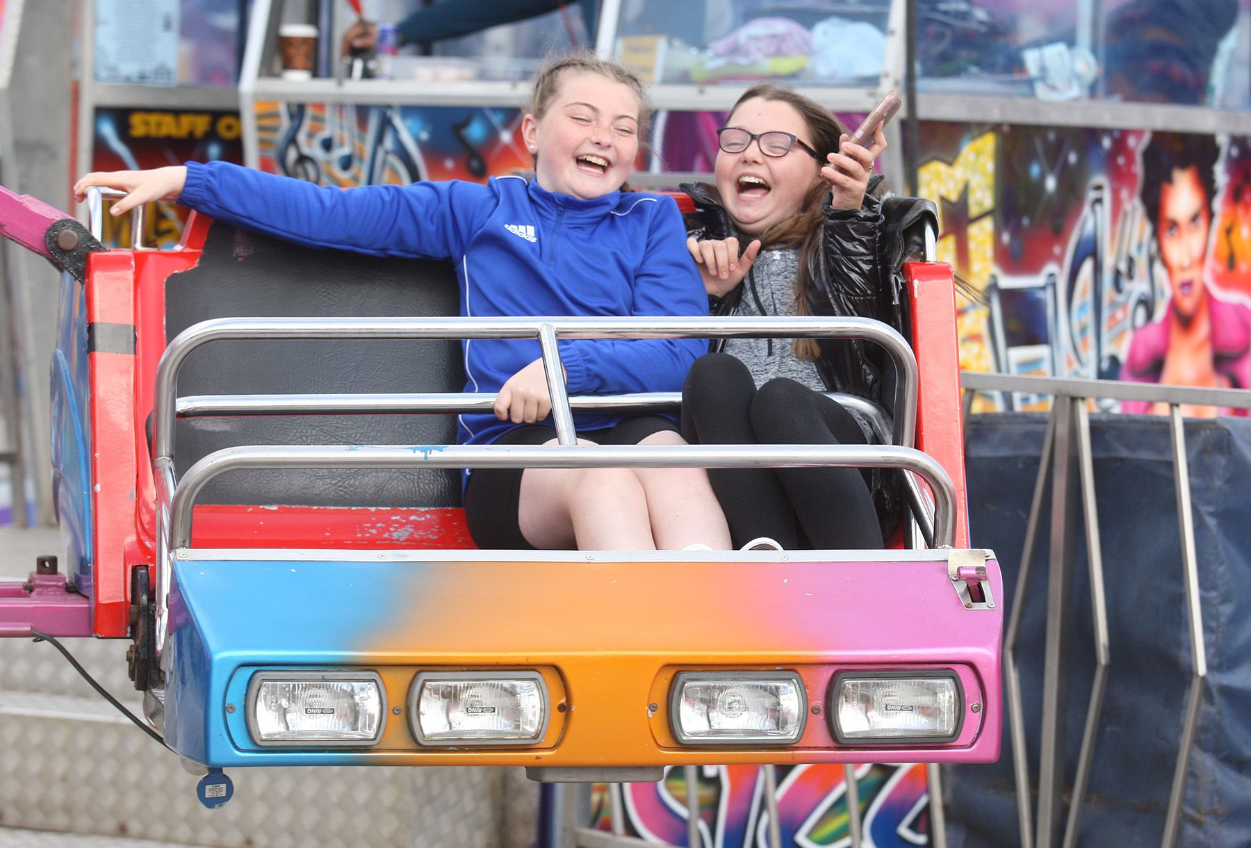 FUN AT THE FAIR: There is something for the whole family as Cullens roll into Ardoyne until 20 June