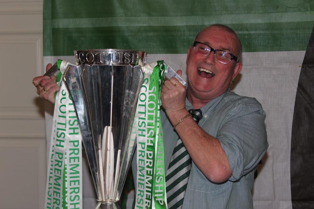 MR CELTIC: Danny McMeekin who passed away last week