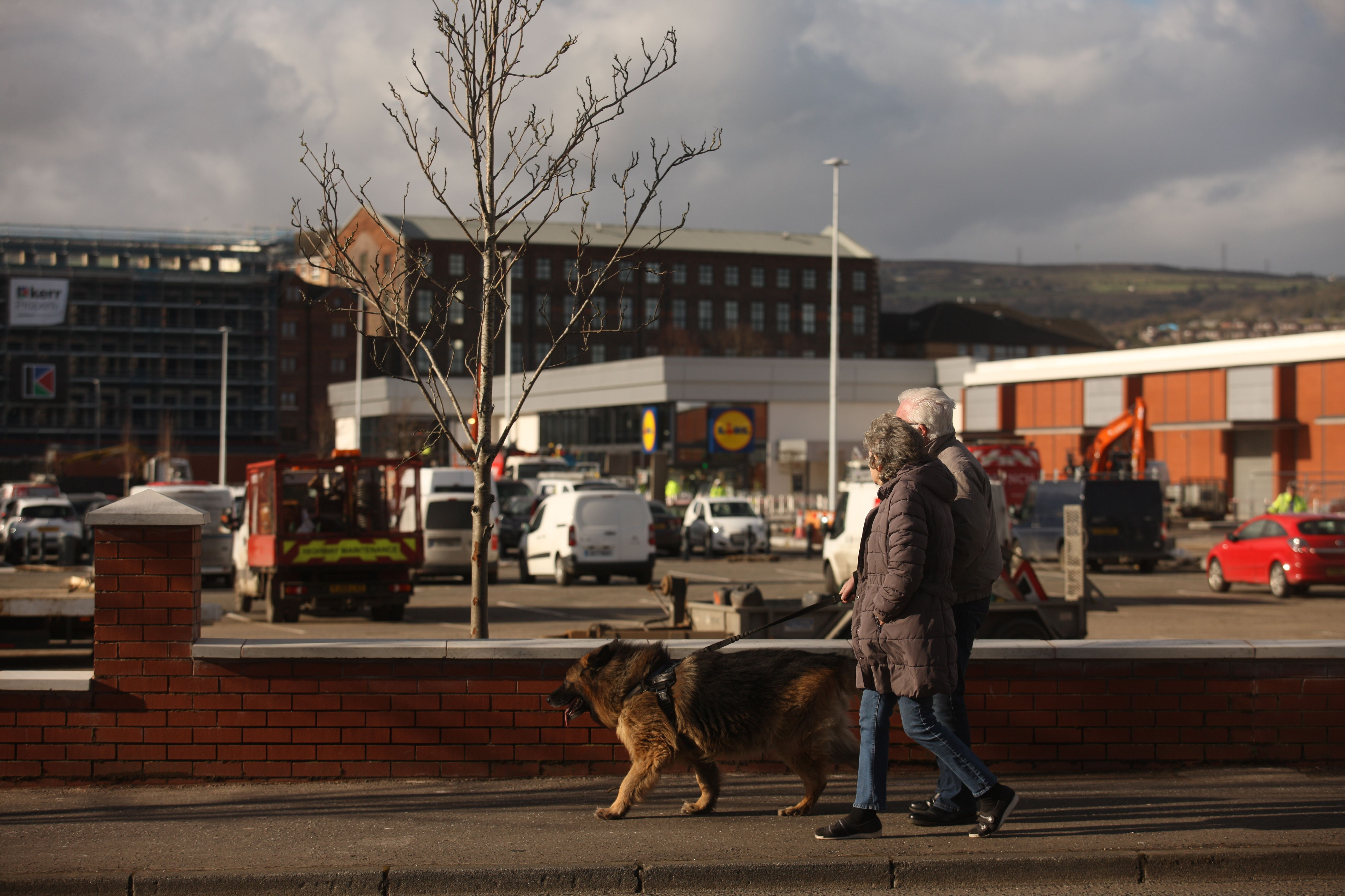 NEW PLANS: Hillview Retail Park on the Crumlin Road