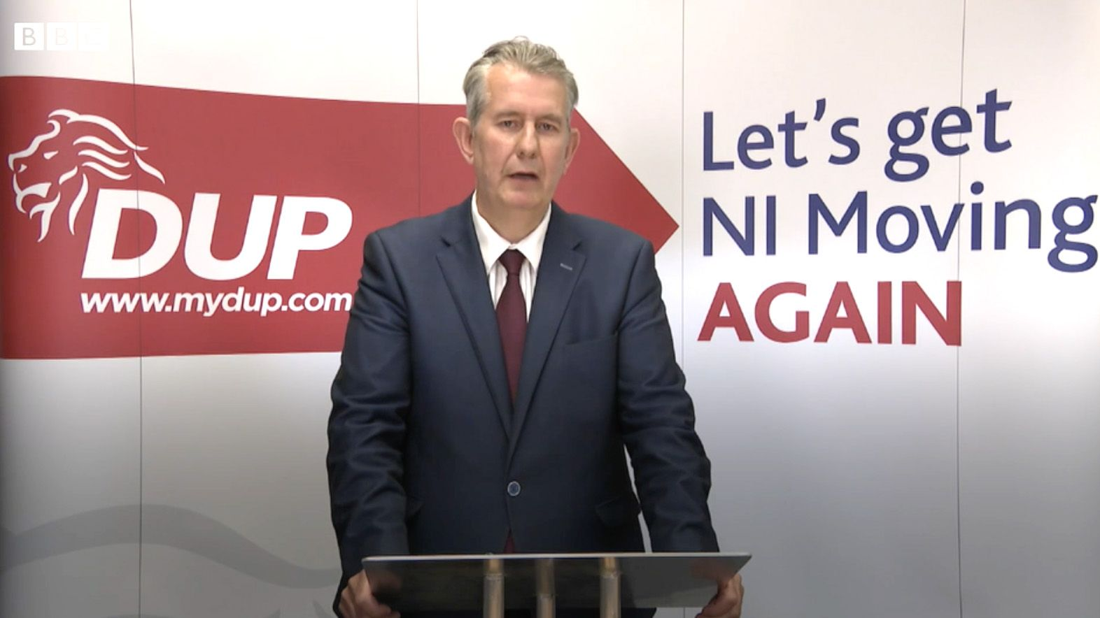 CRISIS: Edwin Poots' new ministerial team is replete with people hostile to the Irish language