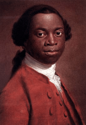 INPSIRING: Olaudah Equiano and (Below) Frederick Douglass