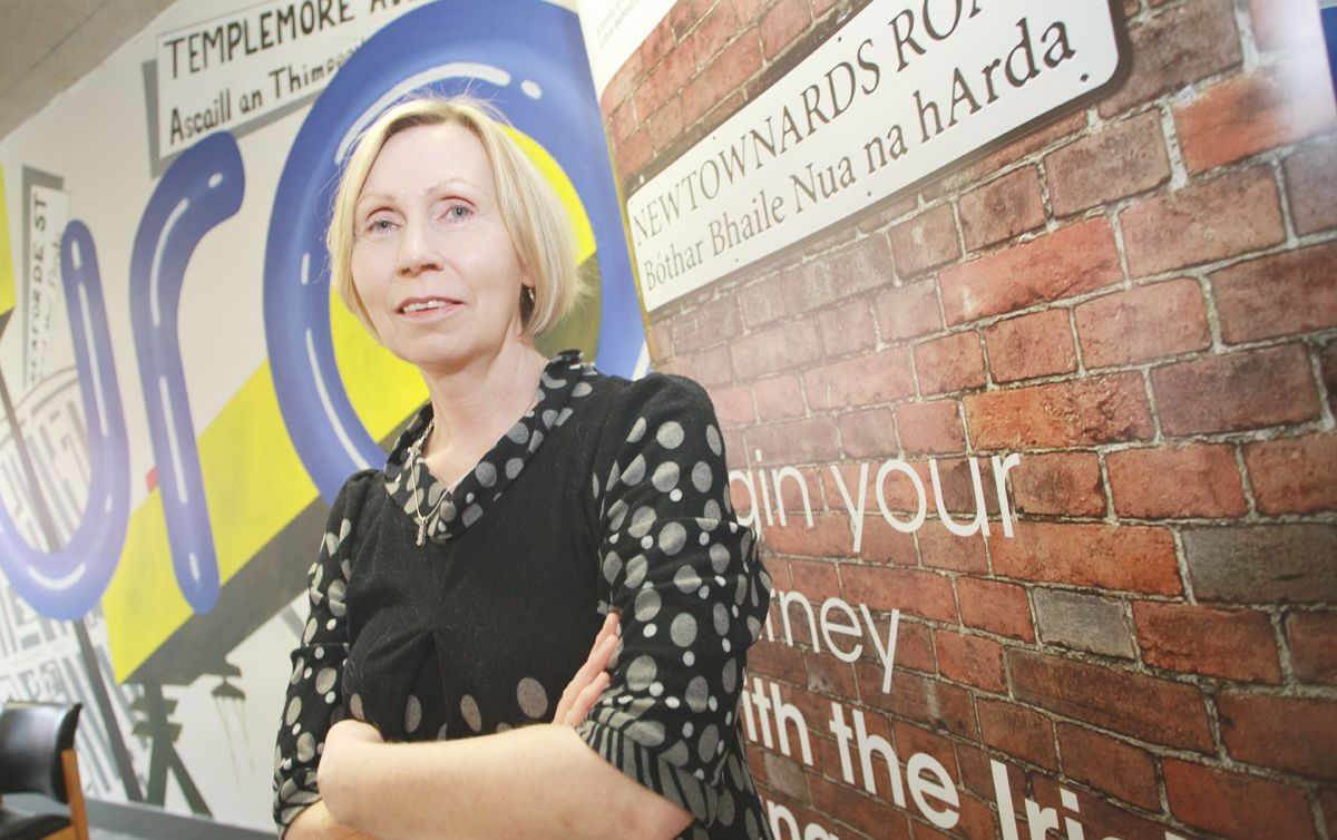 OTHER VOICES: Linda Ervine of the groundbreaking Turas Irish language Project on the Newtownards Road is among the unionists interviewed by Susan McKay.