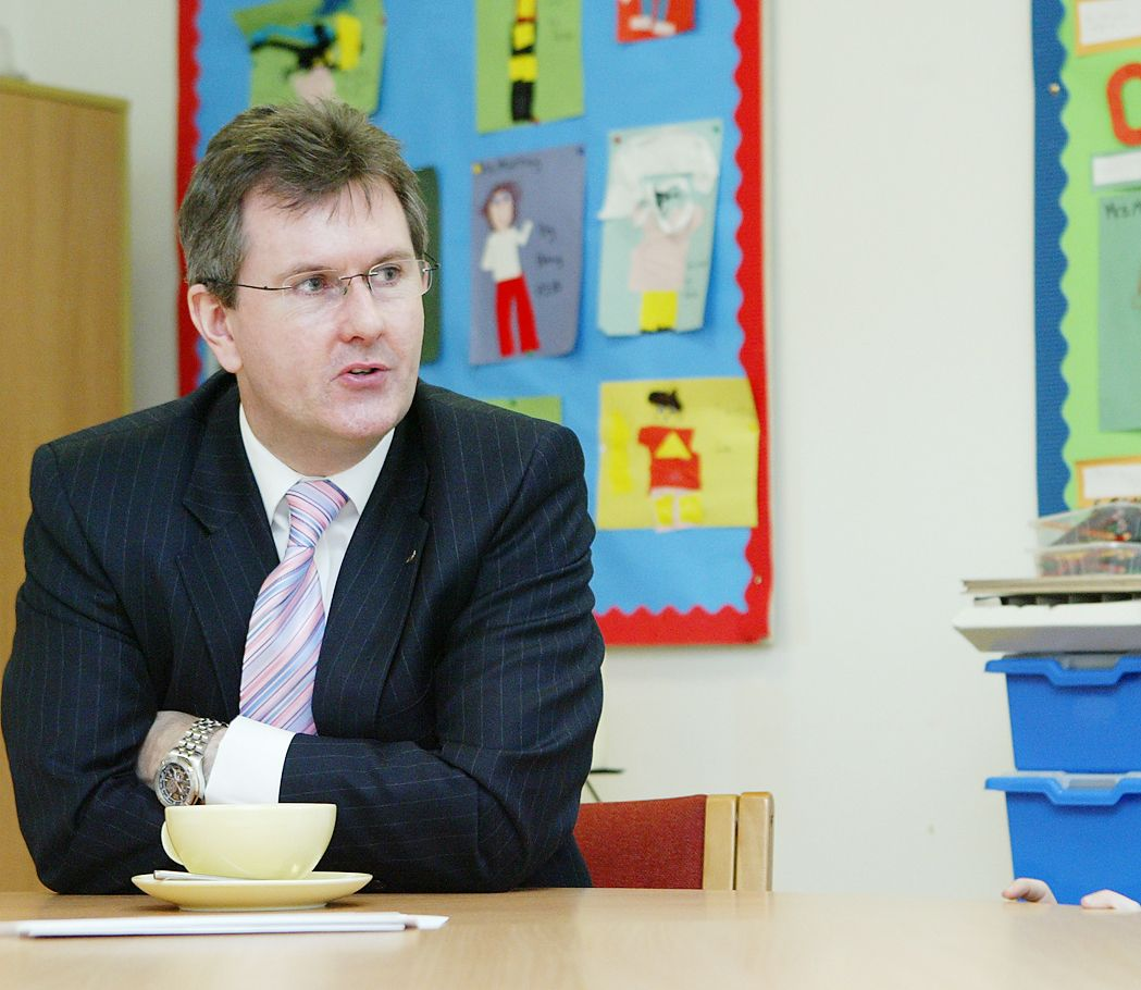 CHANGE: Jeffrey Donaldson is the only contestant for the DUP leadership after Edwin Poots resigned