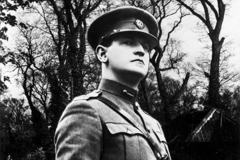 BROKEN PROMISES: Michael Collins wrongly claimed the treaty was a stepping stone to Irish freedom