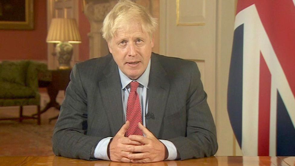 OUT OF TUNE: Boris Johnson hit a wrong note when speaking of Leo Varadkar