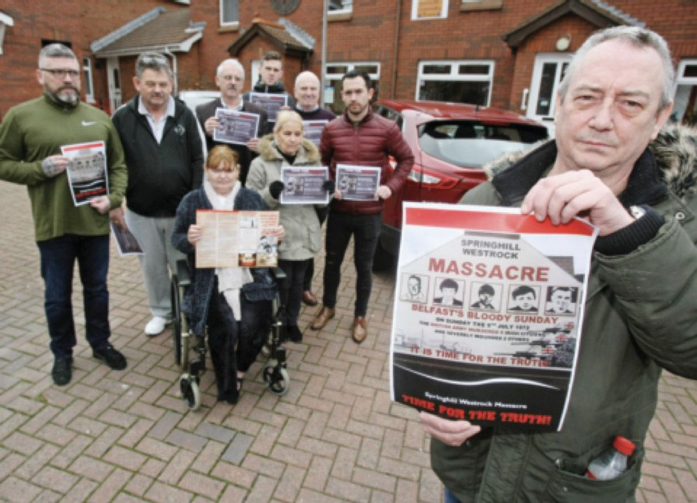 BATTLERS:Martin Butler and the Springhill Westrock Massacre Campaign Group and Families – part of the distressing summer of remembrance we're going through