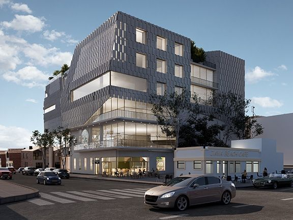 REBUILDING: An artist\'s impression of the new Irish Center planned for San Francisco