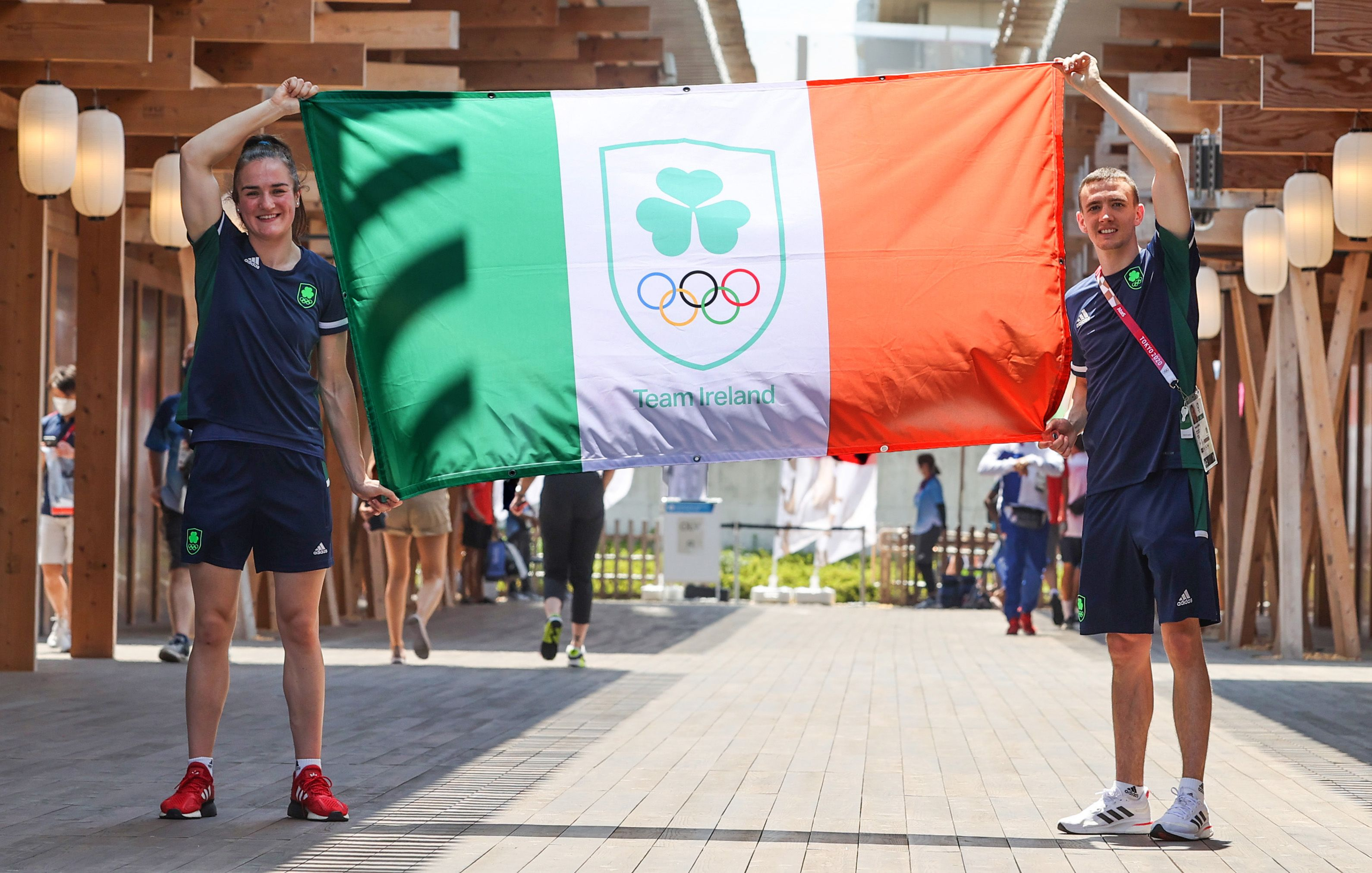 Kellie Harrington and West Belfast\'s Brendan Irvine have been named at Team Ireland\'s flagbearers at Friday\'s Opening Ceremony in Tokyo