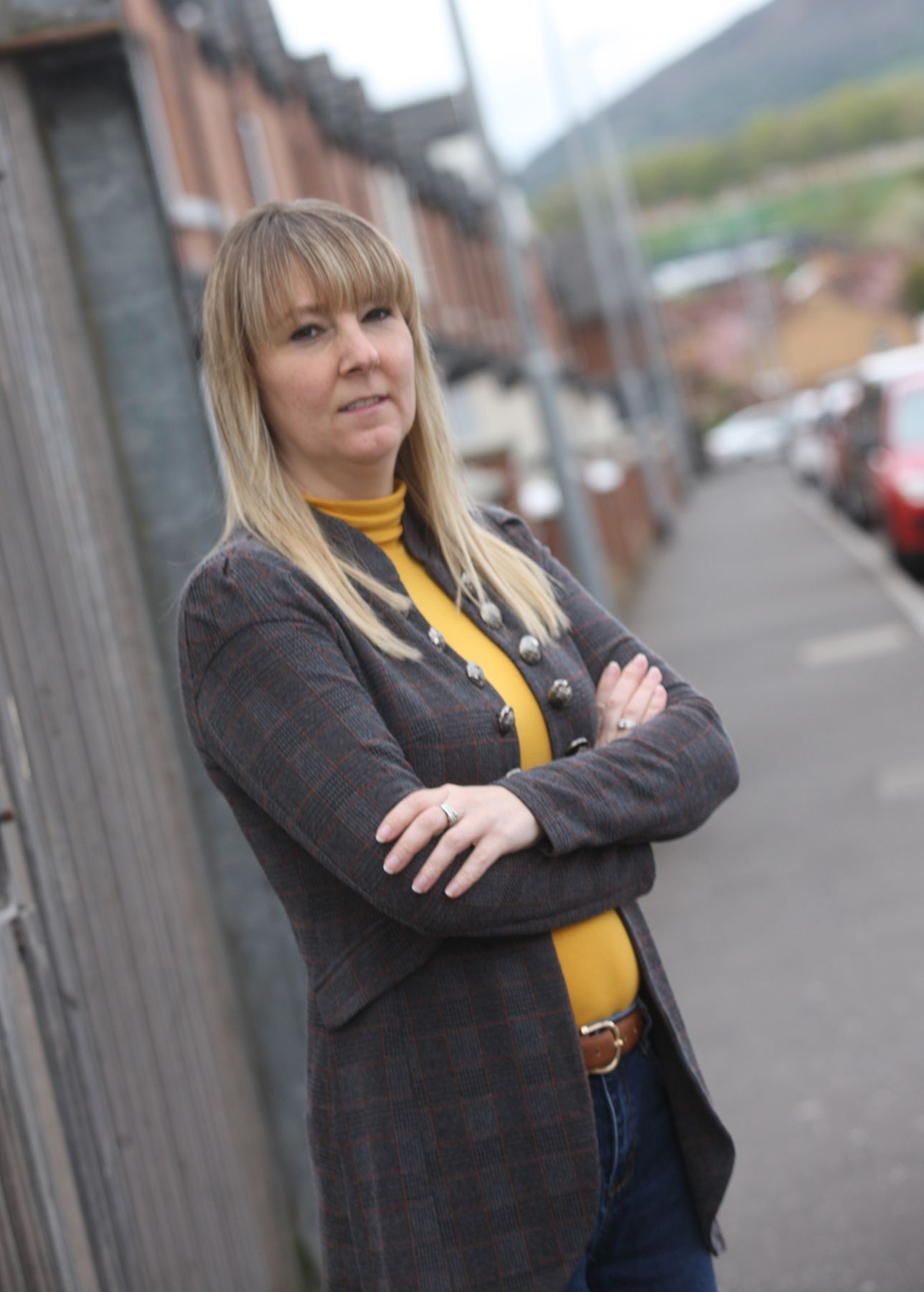 CONCERN: Cllr Claire Canavan issues a warning on break-ins