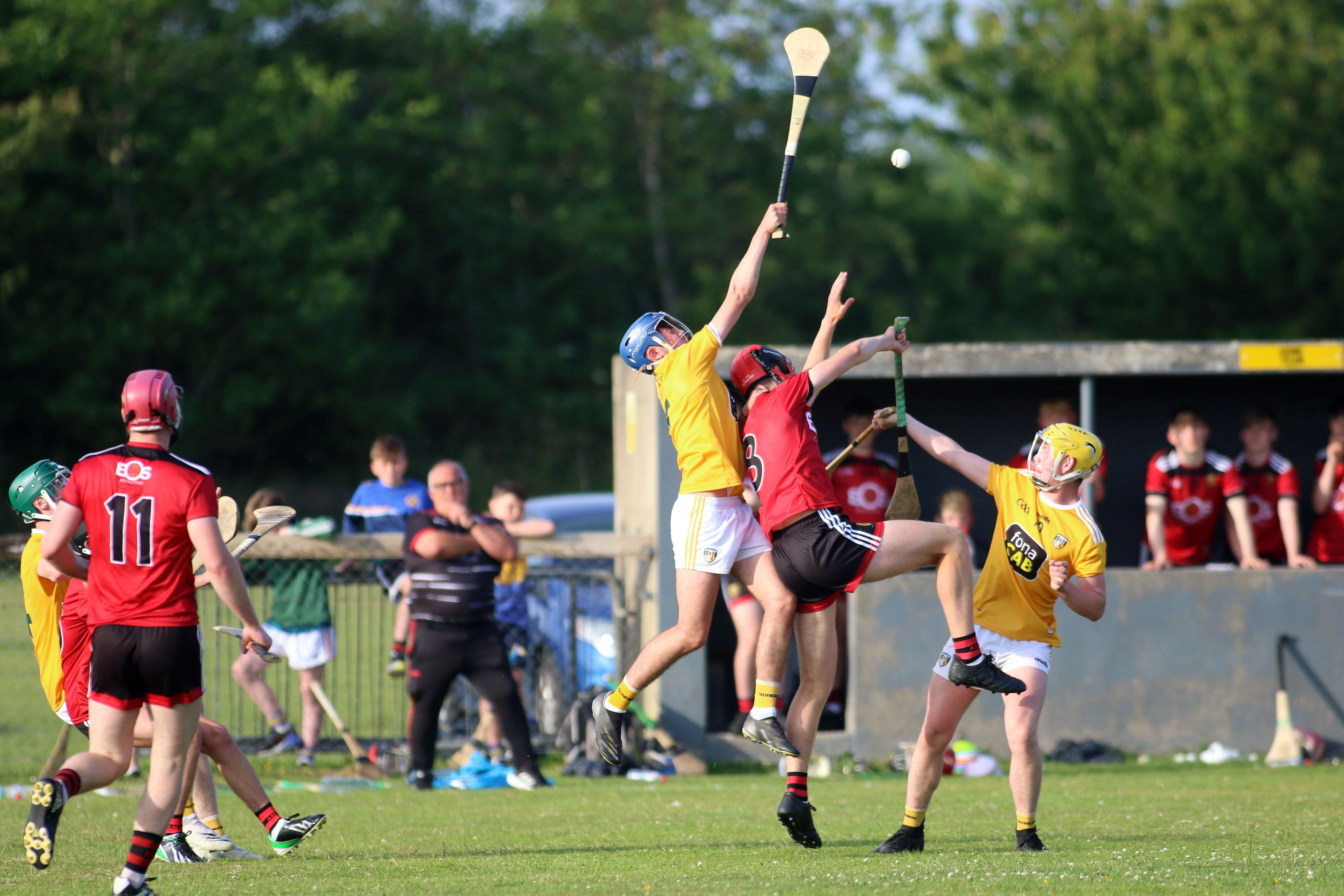 Antrim defeated Down by six points last month in Portaferry and will be hoping for a similar outcome when the Ulster rivals clash in Wednesday night\'s Peadar Ó Liathain Cup final at Corrigan Park