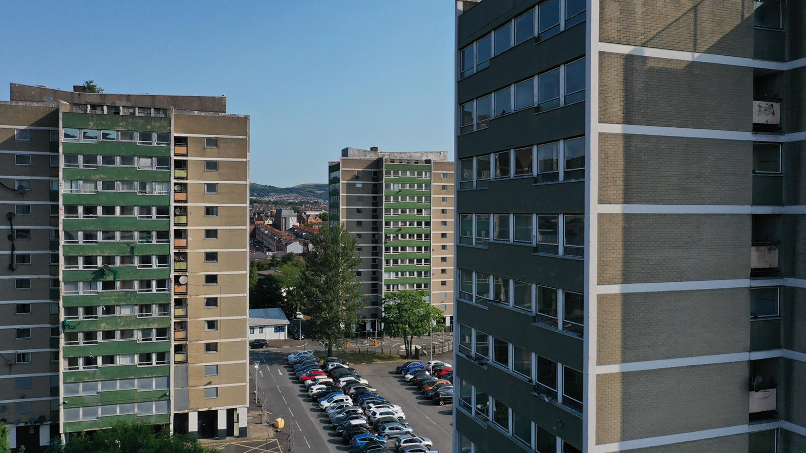 ABANDONED: 200 empty homes at dilapidated Broadway Towers