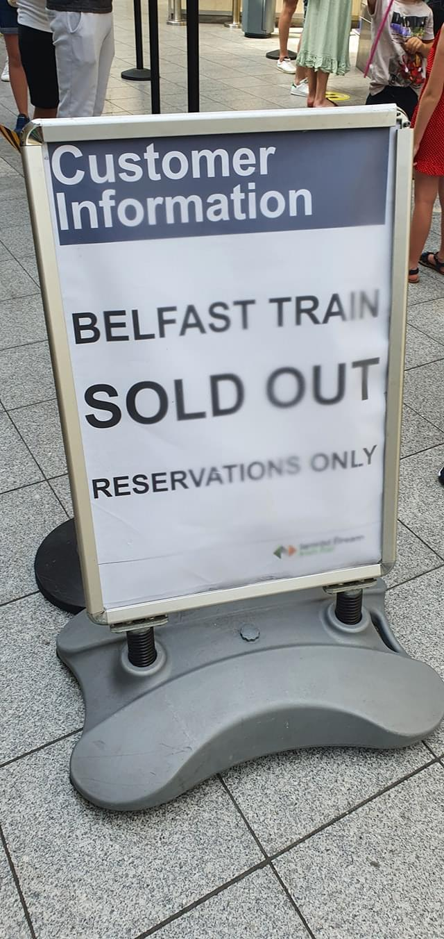 HOLIDAYS BACK: Travellers have been taking to air, road and rail since restrictions were eased.