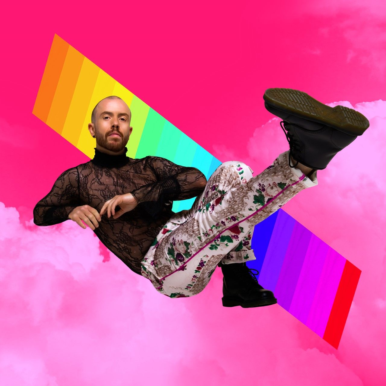 PROUD: The launch of Kane\'s latest album coincides with the start of Belfast Pride week