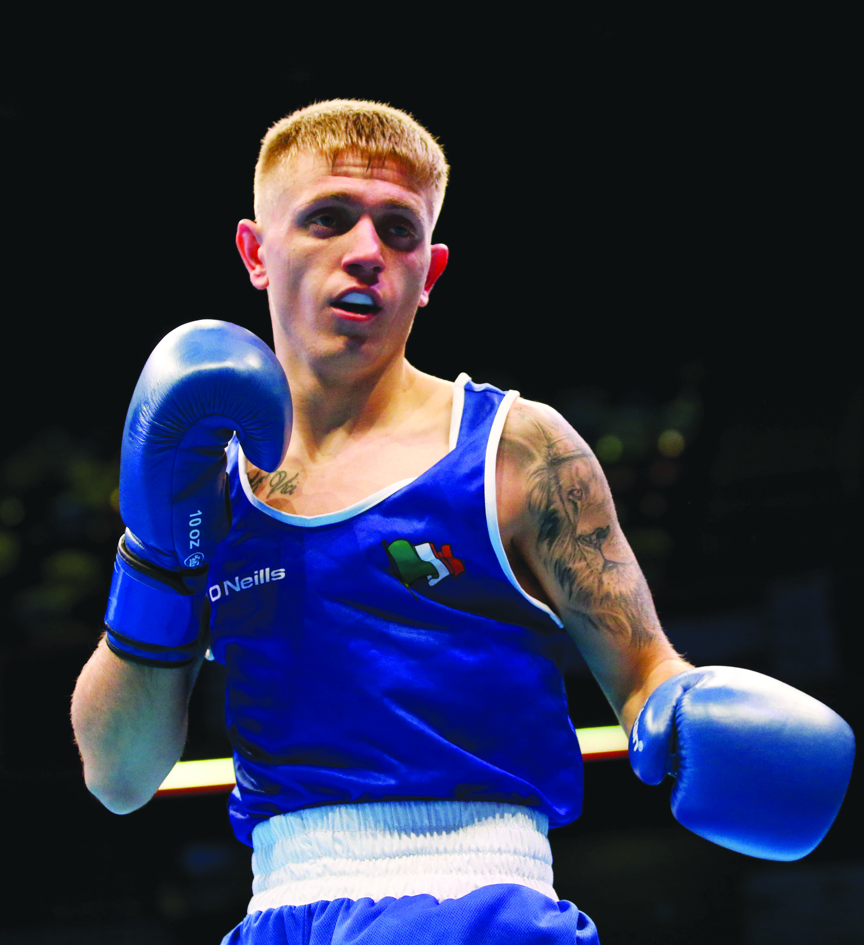Kurt Walker has helped Ireland's boxers get ready for the 2012 and 2016 Games, but now it's his time to star at the greatest show on earth