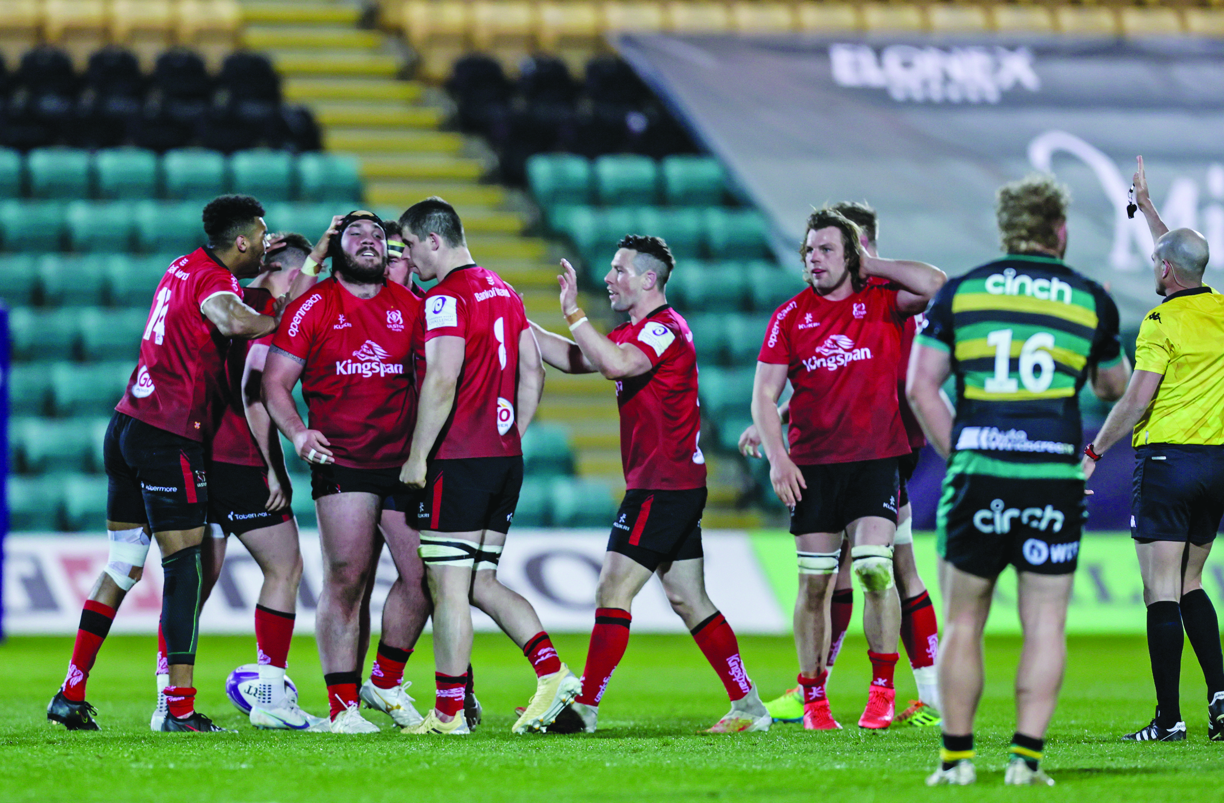 Ulster defeated Northampton in a thrilling Challenge Cup quarter-final in April