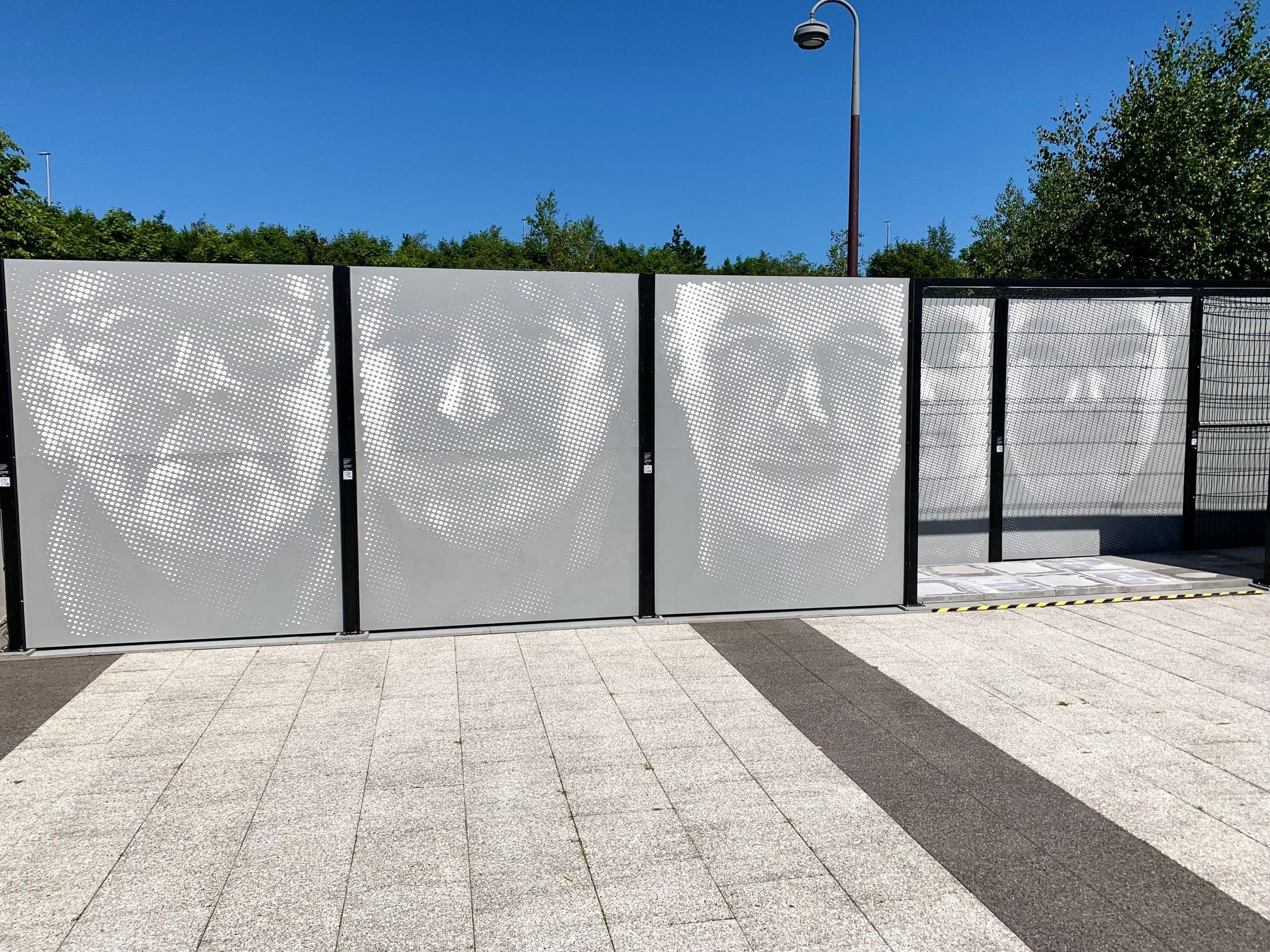 WALLED IN: Stephen Wilson\'s work give new perspective on peace walls.