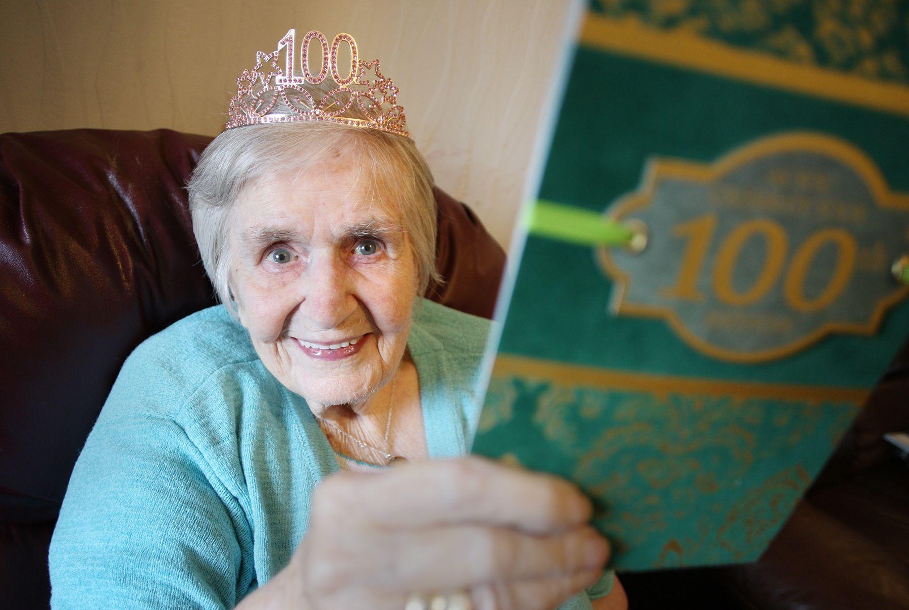 MILESTONE: Alice McKee celebrating her 100th birthday