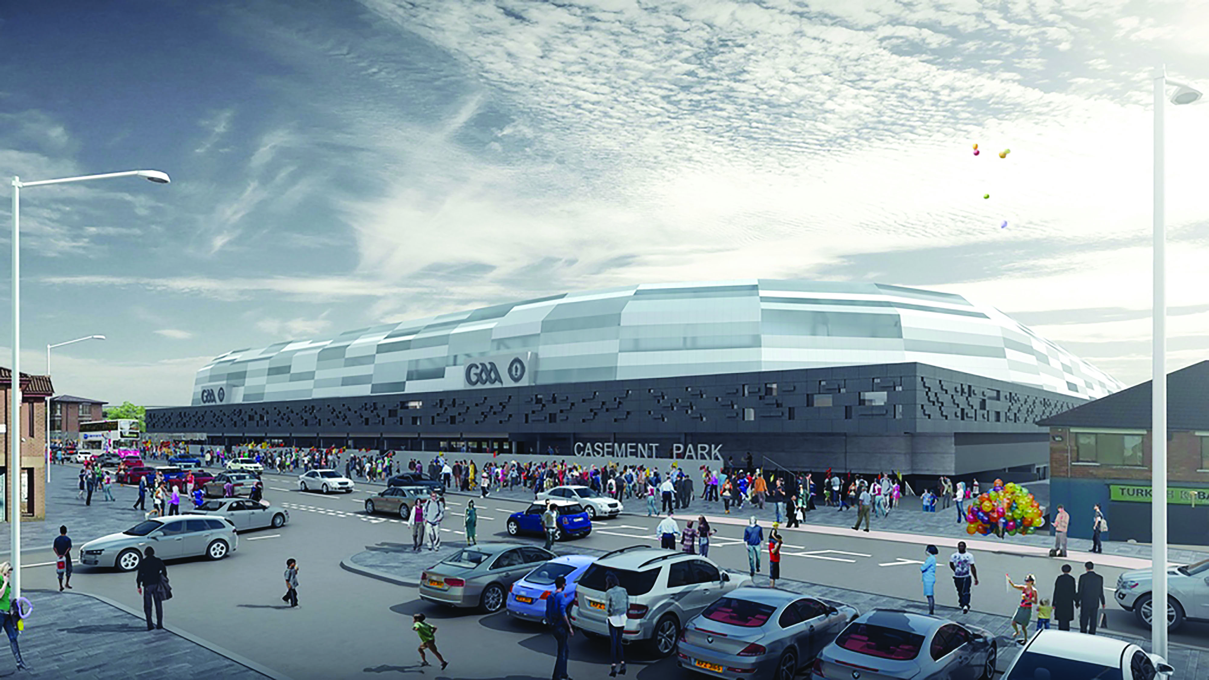 STATE-OF-THE-ART: How the new Casement Park will look when it is eventually built