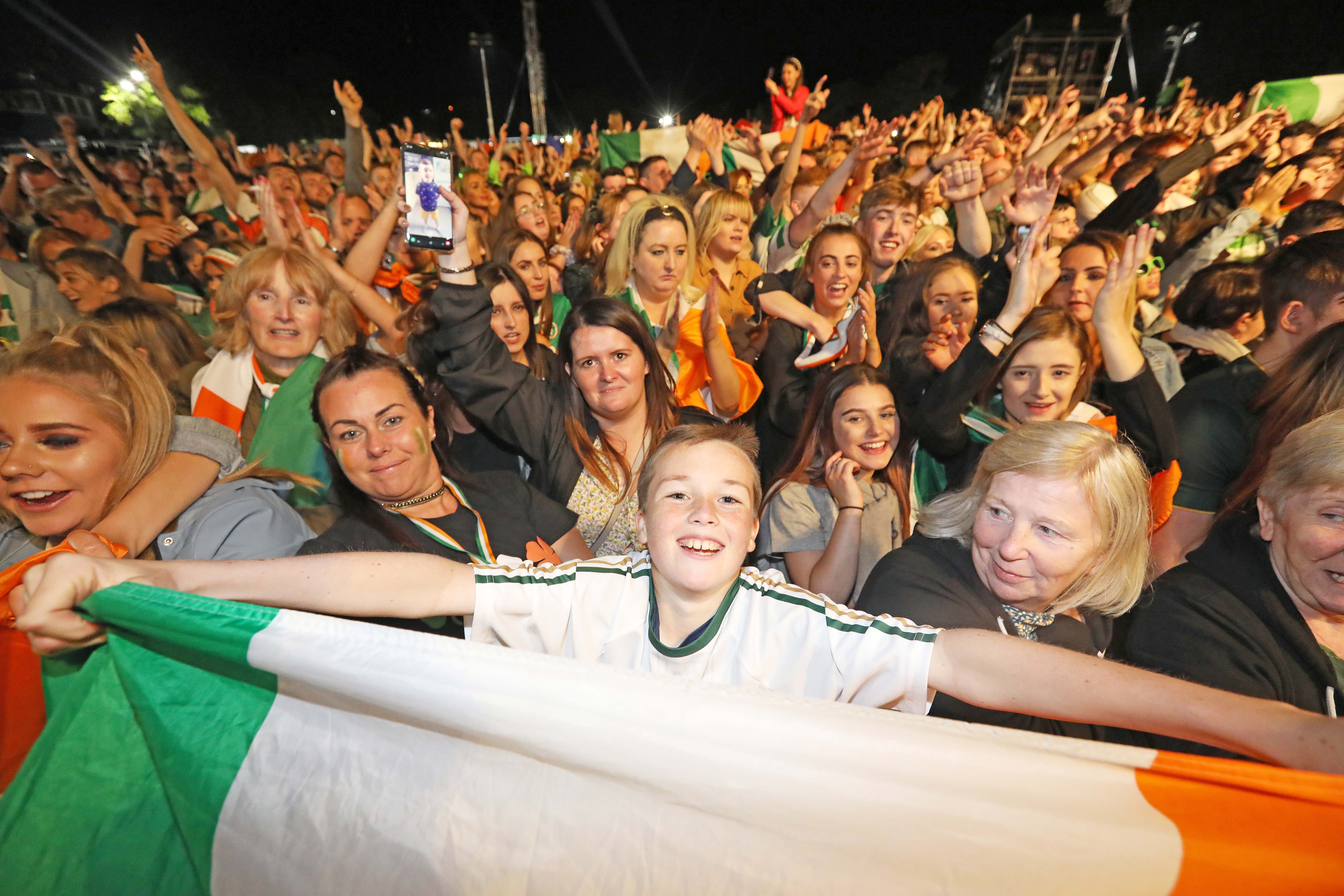 NEW ENTRY REQUIREMENTS: The Wolfe Tones return to Falls Park on August 15