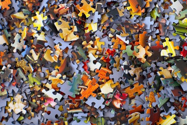 MISTAKE: No matter what, you can still pick up the pieces
