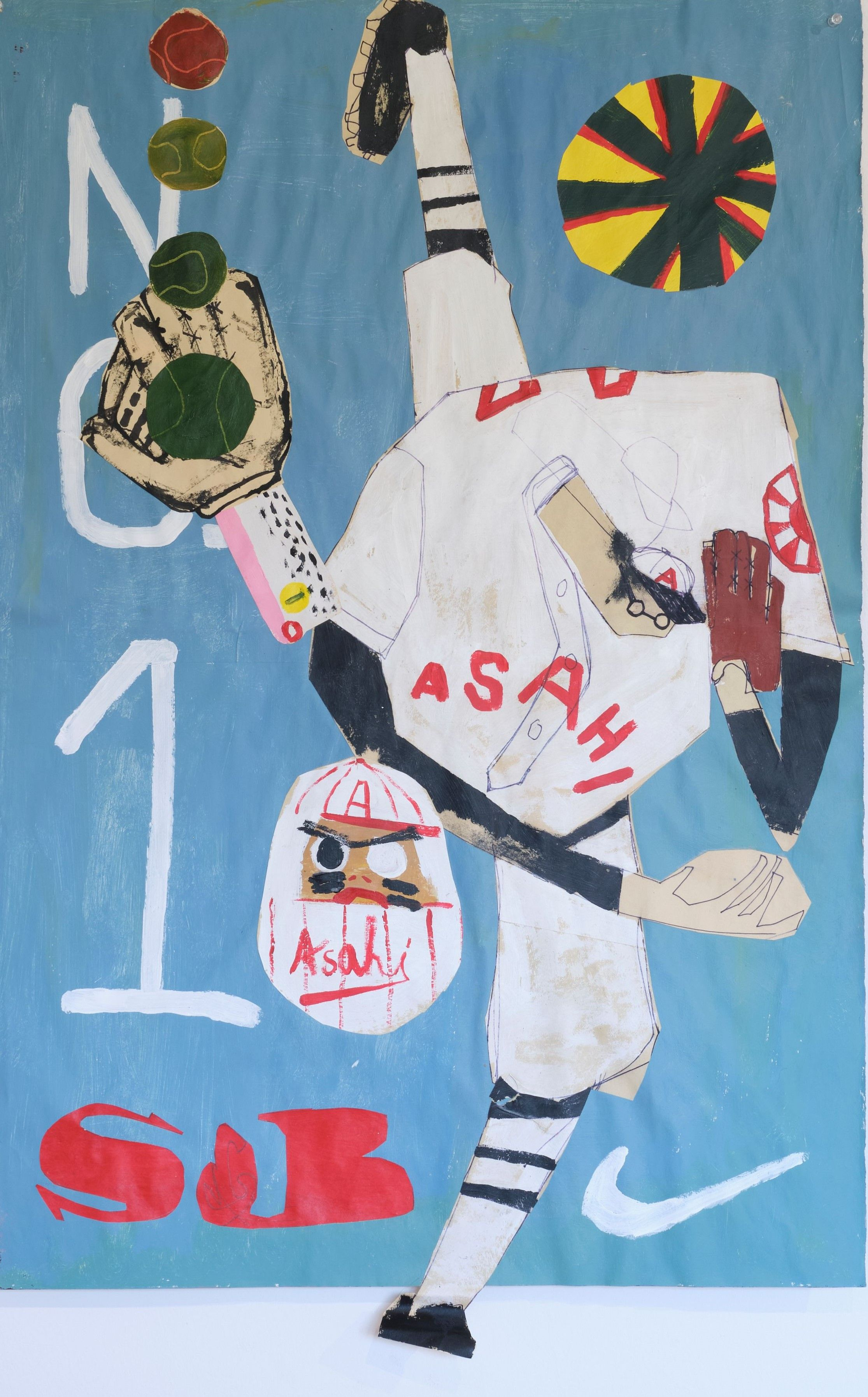 NUCLEAR OPTION: Kellen Hatanaka\'s work on display as part of the Vamos Nippon exhibition in the Naughton Gallery