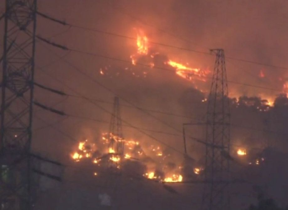 APOCALYPSE NOW: Wildfires engulf a power station in Turkey as global temperatures hit new highs