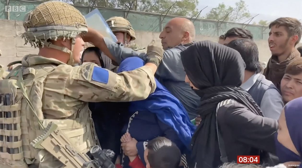 COMPASSION DEFICIT: Scenes of suffering at Kabul Airport as Afghans attempt to flee