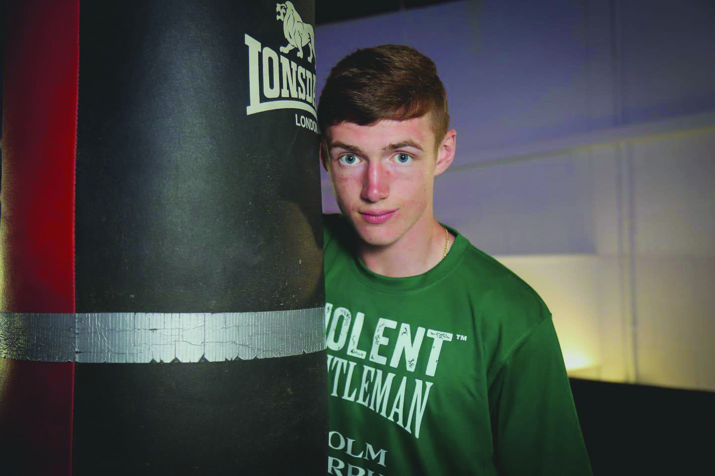 Colm Murphy says it is a dream come true to be making his professional debut on home turf this Saturday