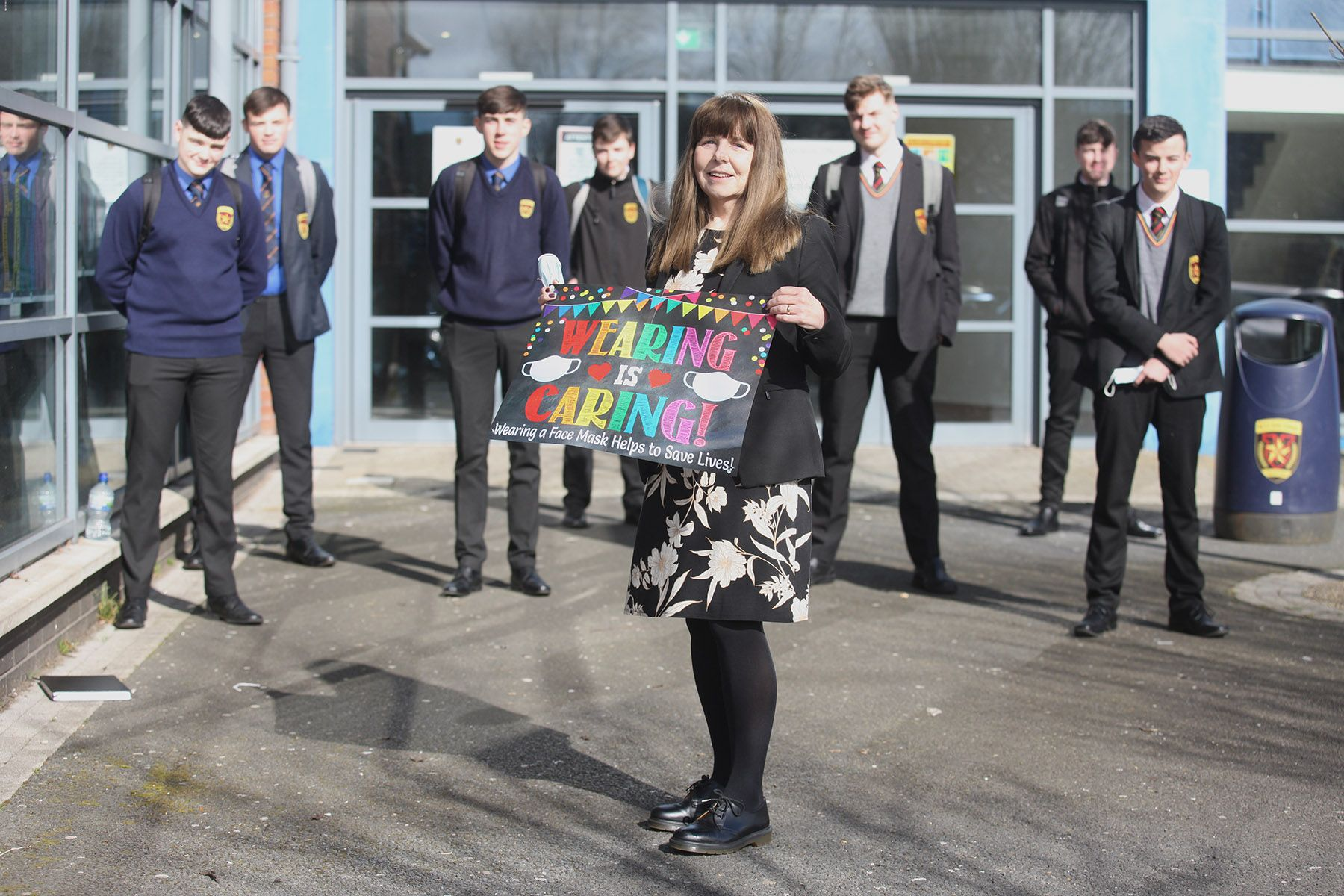 SAFETY: La Salle\'s KS5 Manager Veronica Hanna has called for clearer guidance from the Education Minister