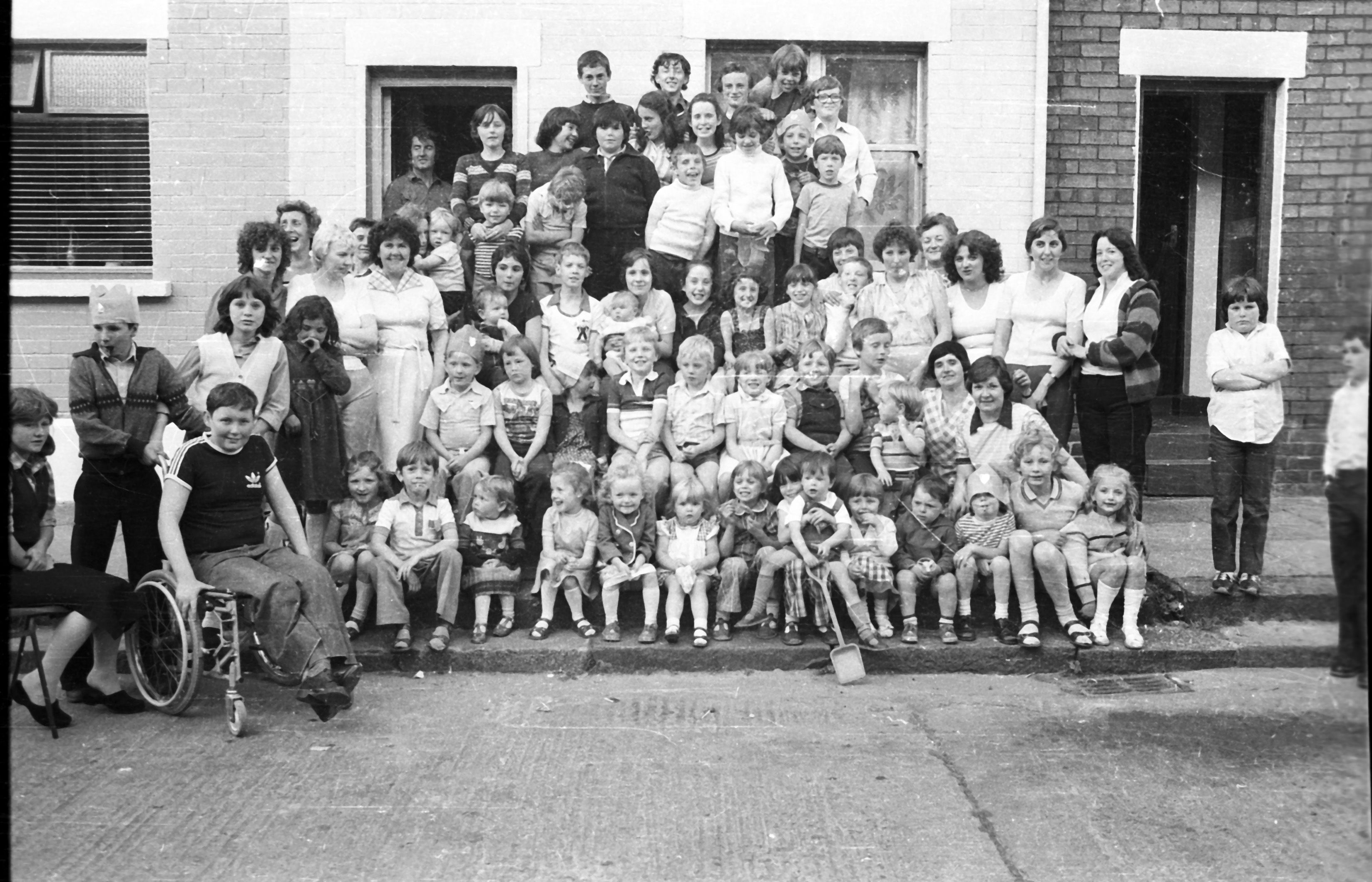 LIFE ON THE STREET: It was fun and games as the summer of '79 came to a close, with this street party in Forest Street
