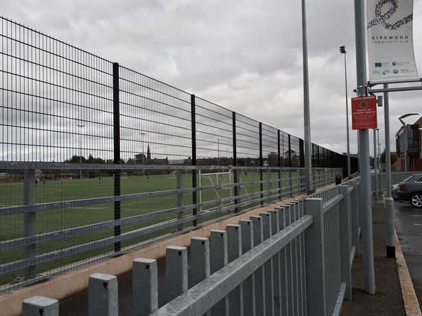 INCIDENTS: The pitch at Girdwood Community Hub