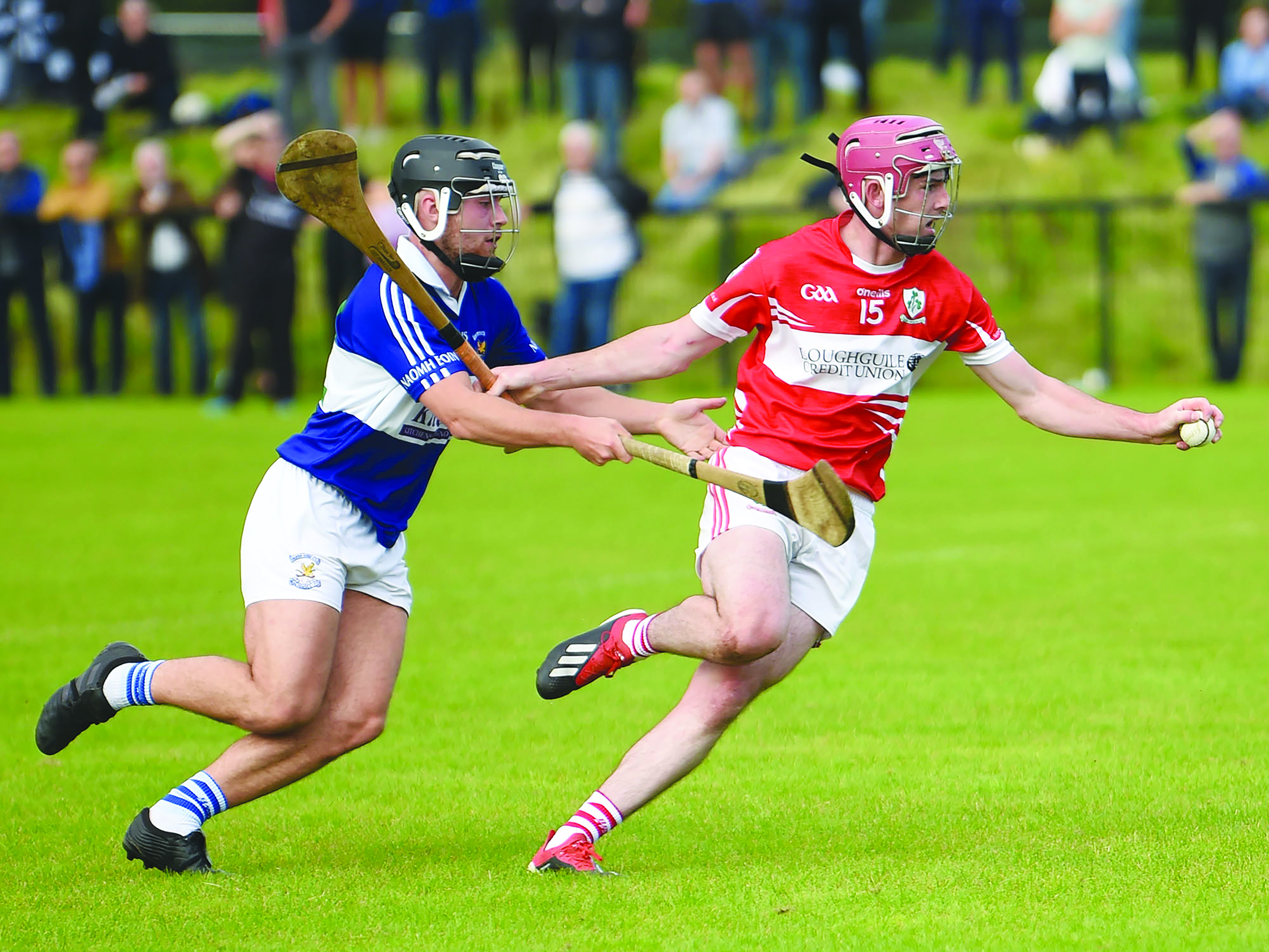Loughgiel overcame last year's semi-final against St John's after extra-time and the sides meet again this Sunday with a place in the last four up for grabs with Portglenone now hosting the game at 7.30pm