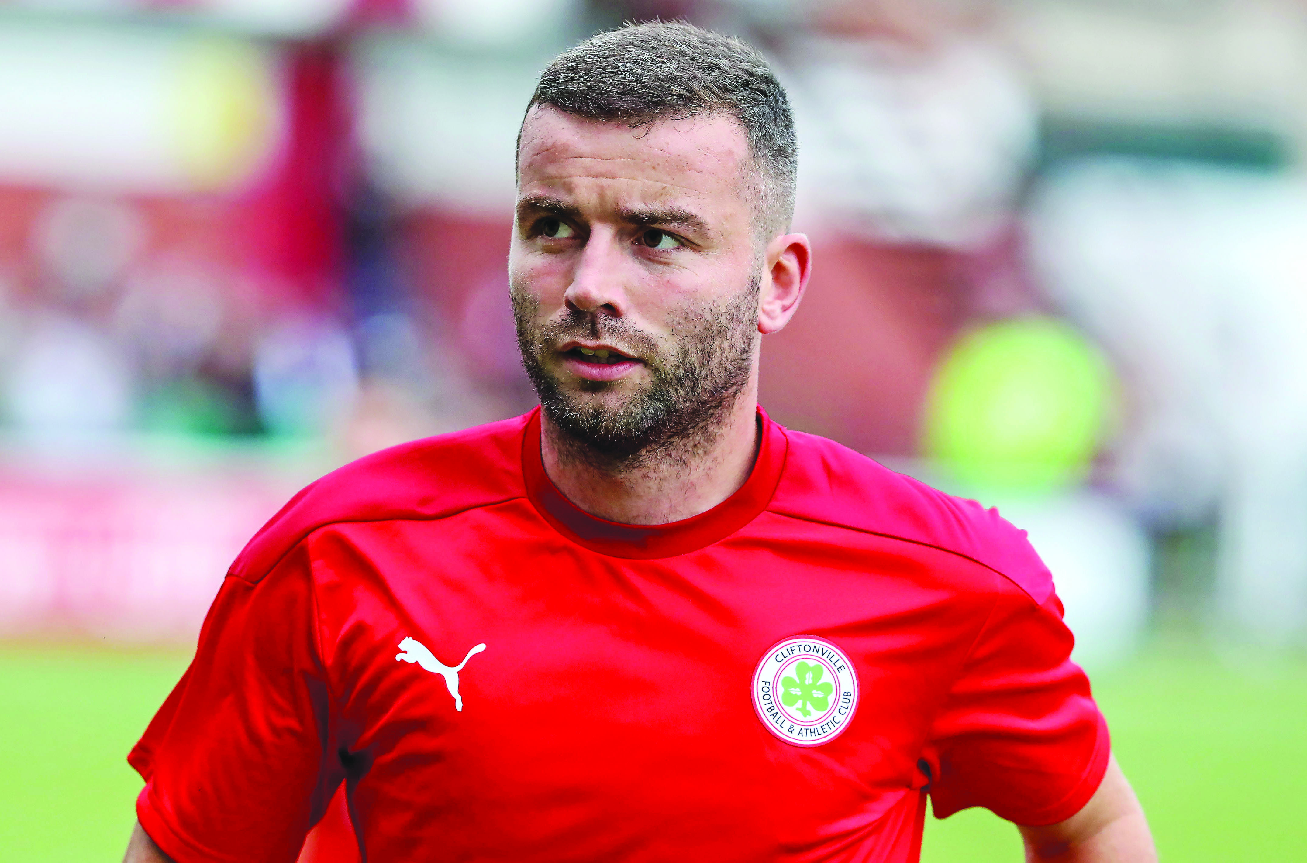 Colin Coates is a veteran of countless North Belfast derbies, but could start for Cliftonville for the first time against his old club, Crusdaers on Saturday