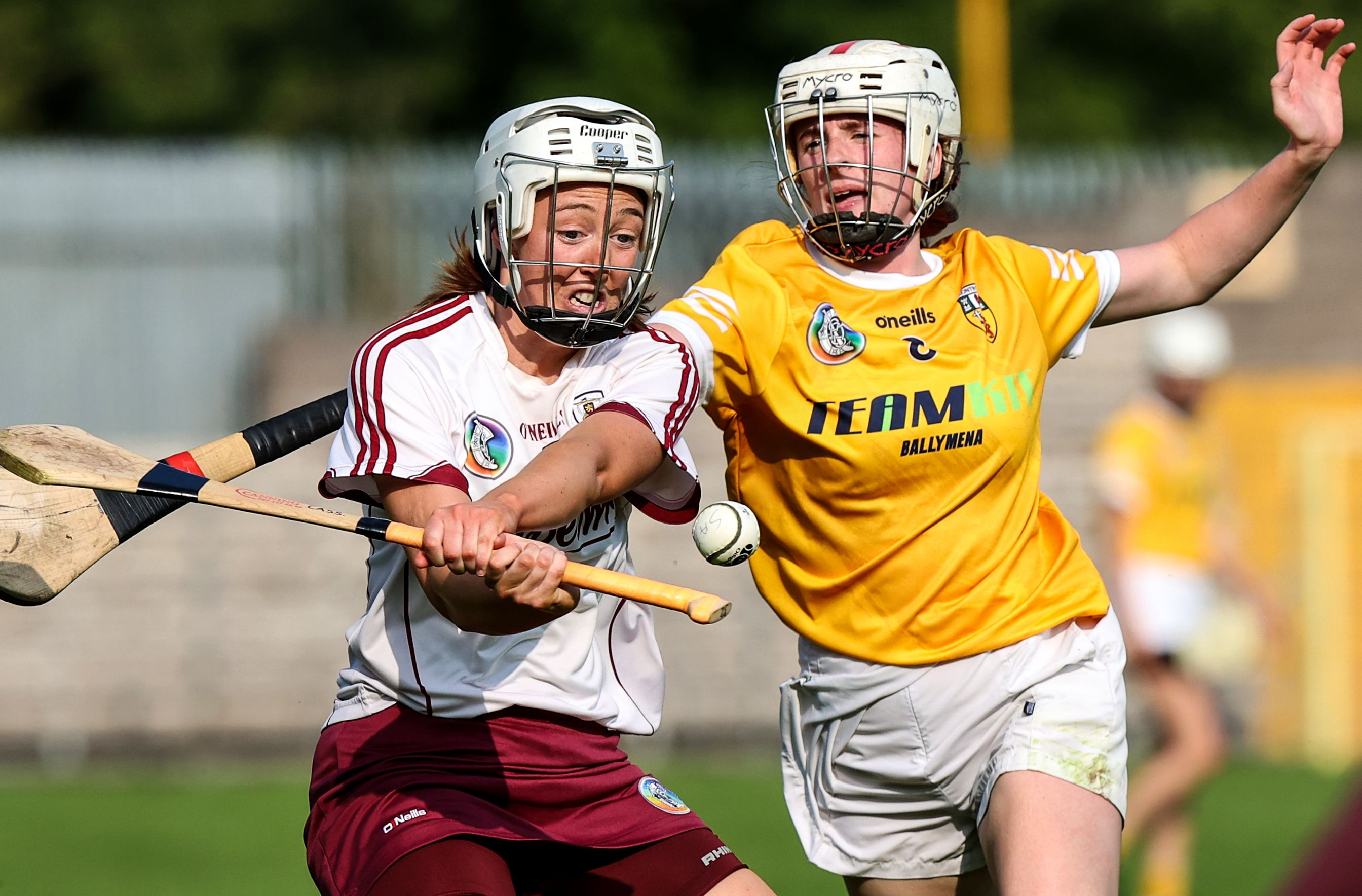 Antrim captain Lucia McNaughton believes that defeat to Down in the 2020 final will help spur Antrim on against Kilkenny on Sunday