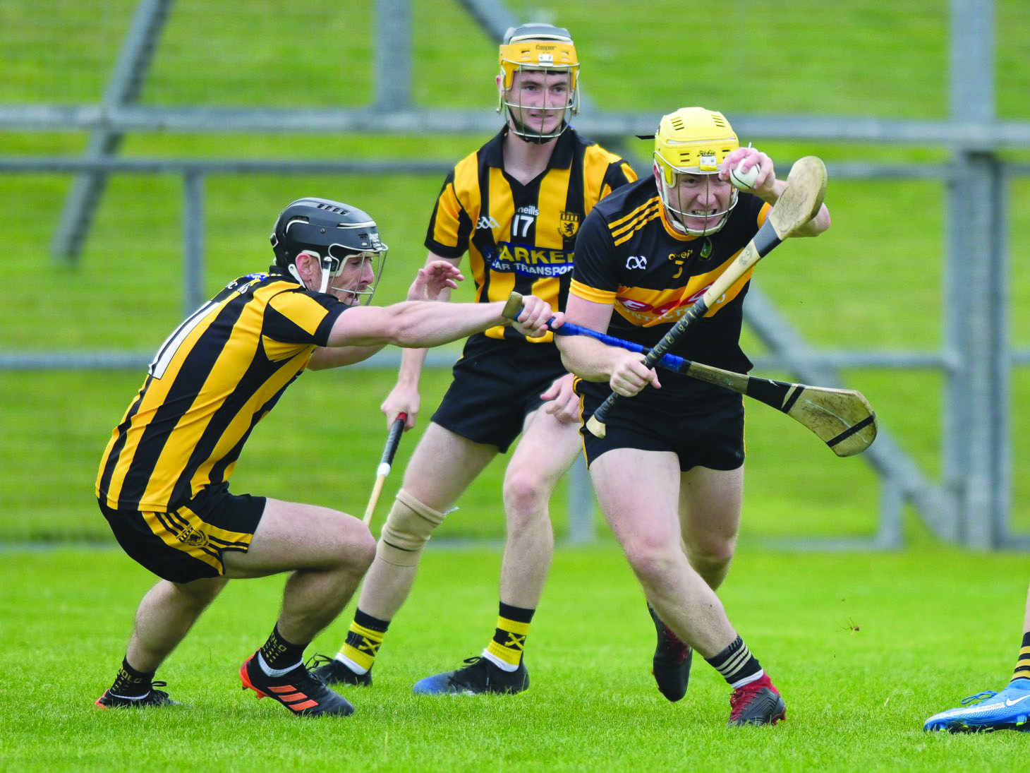 Naomh Éanna made history on Sunday in Ballycastle when recording the club's first win in the Antrim Senior Hurling Championship, but the challenge is greater again in Sunday's quarter-final against Cushendall